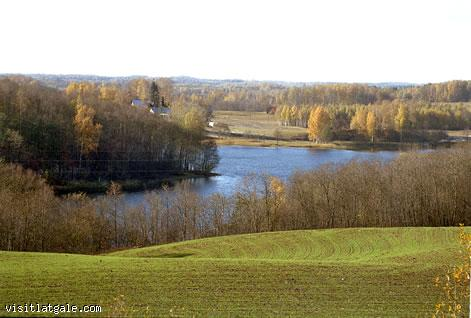 View of Latgale